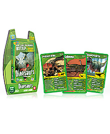 Top Trumps Deluxe Dinosaurs Card Game - 30 Cards