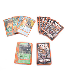Top Trumps Super Deluxe Predators - 30 Cards