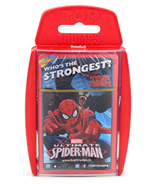 Spider Man Super Deluxe Ultimate Card Game - 30 Cards - 6.2 X 10.0 Cm