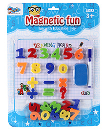 Fab N Funky Magnetic Drawing Board - Fun Numbers