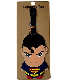 EZ Life Premium Silicon Luggage Tag - Superman