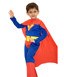 EZ Life Mighty Superman Outfit - Red And Blue