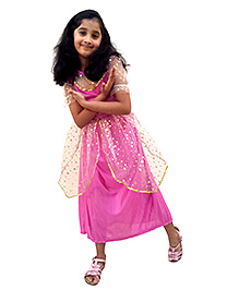 EZ Life Short Sleeves Princess Outfit - Pink