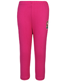 Babyhug Solid Color Full Length Legging - Fuchsia
