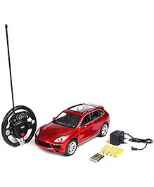 MZ Remote Controlled Porsche Cayanne Car - Red