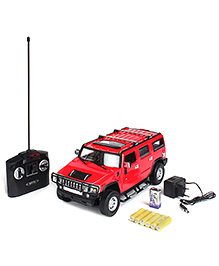 MZ Remote Controlled Hummer H2 Car - Red