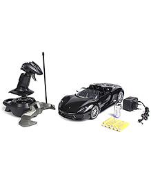 MZ Remote Controlled Porsche 918 Car - Black