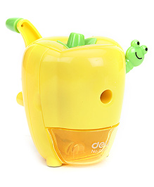 Deli Sweet Pepper Pencil Sharpener - Yellow And Green