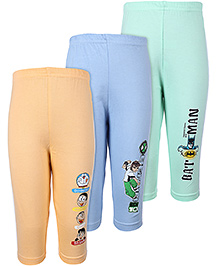 Cucumber Full Length Track Pants - Set Of 3