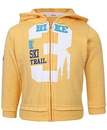 Fox Baby Hooded Sweatshirt Full Sleeves - Hike print