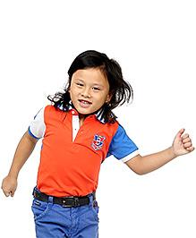 BonOrganik Half Sleeves Polo T-Shirt - Dual Colour