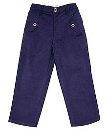 Campana Full Length Corduroy Pant - Navy Blue