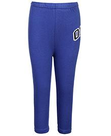 Babyhug Full Length Leggings - Blue