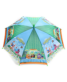 Disney Kids Umbrella Cartoon Print - Green