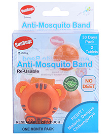 Runbugz Mouse Anti Mosquito Bracelet With Two Refillable Tab