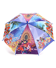 Disney Kids Umbrella - Winx Club Print