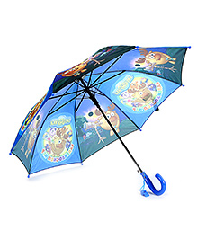 Disney Kids Umbrella Cartoon Print - Orange And Yellow