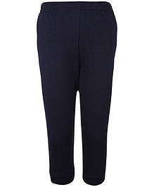 Pink Rabbit Ribbed Leggings - Navy Blue