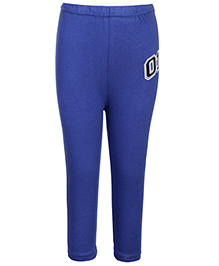 Babyhug Full Length Leggings - Blue