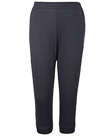 Pink Rabbit Ribbed Leggings - Slate Grey