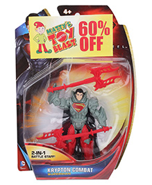 Superman Krypton Combat - Red And Grey