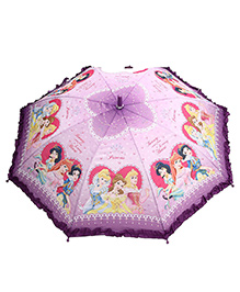 Disney Princess Umbrella Purple - 19 Inches