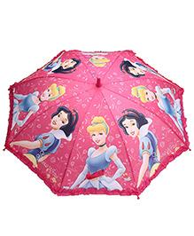 Disney Princess Umbrella Pink - 19 Inches