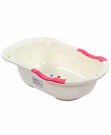 Fab N Funky Pink Bath Tub - Mouse Rabbit Print
