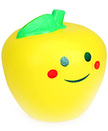 Speedage Smiley Apple Money Bank - Yellow