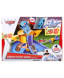 Disney Pixar Cars Stunt Racers Dinoco Stunt Show - Multi Color