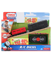 Thomas And Friends RC Motorized Engine Diesel - Red And Black