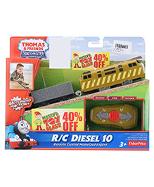 Thomas And Friends RC Motorized Engine Diesel 10 - Red And Yellow