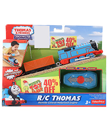 Thomas And Friends RC Motorized Engine Thomas - Red And Blue