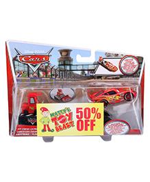 Disney Pixar Cars Pit Crew Launcher - Red Car