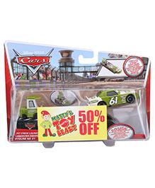 Disney Pixar Cars Pit Crew Launcher - Green Car