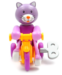 Baby Steps Brisk Cycling Team Wind Up Toy