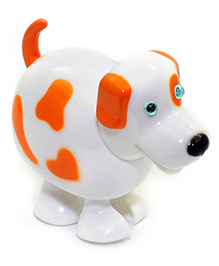 Baby Steps Running Doggy Wind Up Toy