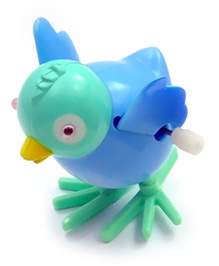 Baby Steps Sky Animal Wind Up Toy Blue
