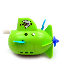 Baby Steps Submarine Wind Up Water Toy