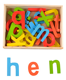 Skillofun ABC Cutout Wooden Blocks Lower - Multi Colour