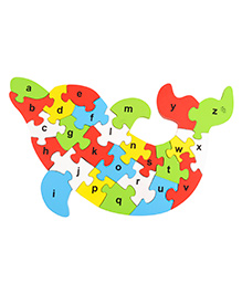 Skillofun Take Apart Lower Alphabet Wooden Puzzle English - Mulit Colour
