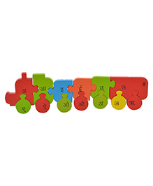 Skillofun Take Apart Hindi Vowel Wooden Puzzle - Mulitcolour