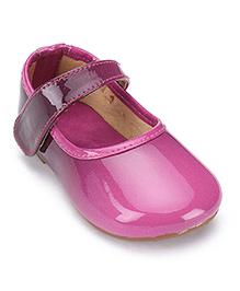 Shoebiz Party Bellies Velcro Strap - Purple