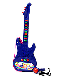 Prasid Mini Guitar With Mic - Blue