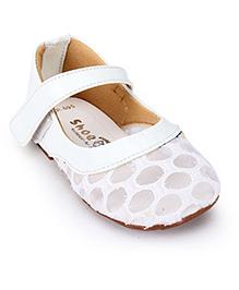 Shoebiz Bellies Velcro Strap - White