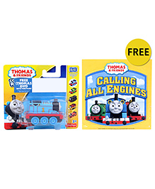 Thomas And Friends Collectible Railway Engine - Blue