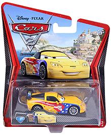 Disney Pixar Cars Jeff Grvette - Yellow