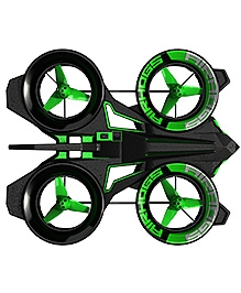 Airhog Helix X4 Stunt Quadcopter  - Black And Green