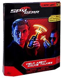 Spy Gear Field Agent Walkie Talkies - Black