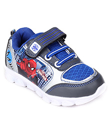 Spiderman Sport Shoes - Lace Up With Velcro Closure - Size 7-24